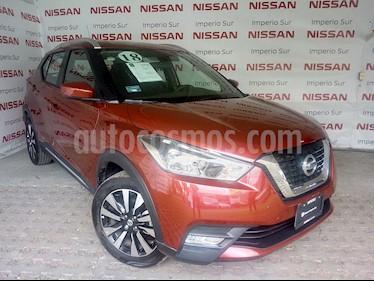 Foto venta Auto Seminuevo Nissan Kicks Advance Aut (2018) color Rojo Metalizado precio $285,000