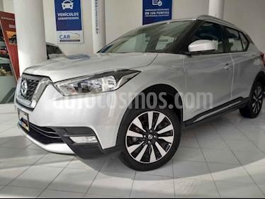 Foto venta Auto usado Nissan Kicks Advance Aut (2018) color Plata precio $259,900