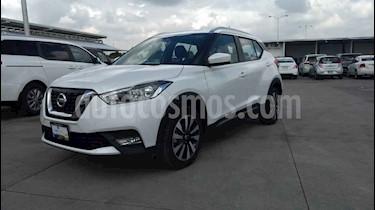 Foto venta Auto usado Nissan Kicks Advance Aut (2019) color Blanco precio $274,900