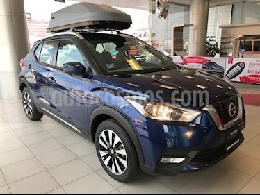 Foto venta Auto usado Nissan Kicks Advance Aut (2019) color Azul precio $331,800