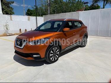 Foto venta Auto usado Nissan Kicks Advance Aut (2018) color Naranja precio $248,900