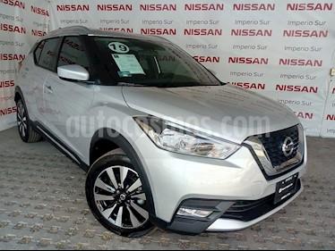 Foto venta Auto usado Nissan Kicks Advance Aut (2019) color Plata precio $346,800