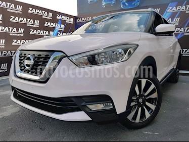 Foto venta Auto usado Nissan Kicks Advance Aut (2018) color Blanco Perla precio $274,900