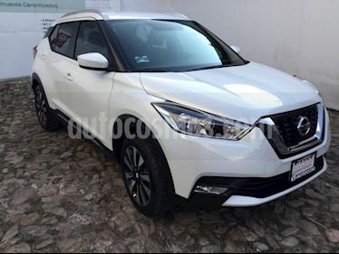 Foto venta Auto Seminuevo Nissan Kicks ADVANCE LTS CVT (2018) color Blanco precio $295,000