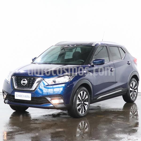 Nissan Kicks Advance usado (2018) color Azul Oscuro precio $1.835.000