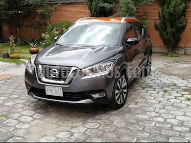 Nissan Kicks Bitono Aut usado (2018) color Gris Oxford precio $297,000