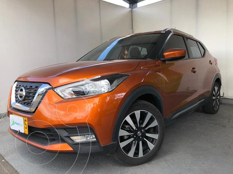 Nissan Kicks Advance Aut usado (2018) color Naranja precio $59.500.000