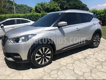 Nissan Kicks Advance Aut usado (2017) color Plata precio $60.000.000