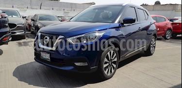 Foto venta Auto usado Nissan Kicks Exclusive Aut (2018) color Azul Cobalto precio $329,900