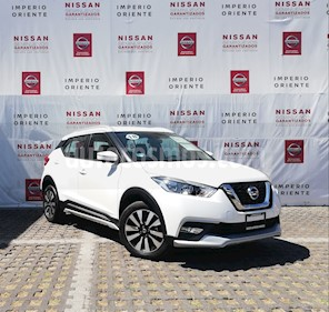 Foto Nissan Kicks Exclusive Aut usado (2018) color Blanco Perla precio $318,000