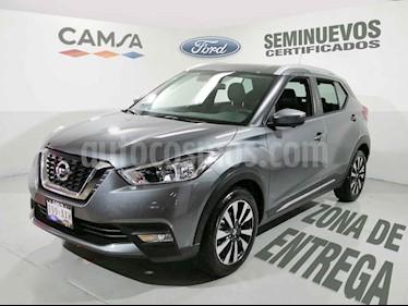 Foto venta Auto usado Nissan Kicks Exclusive Aut (2018) color Gris precio $299,900