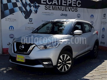 Foto venta Auto usado Nissan Kicks Exclusive Aut (2018) color Plata precio $319,000