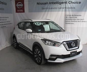 Foto venta Auto Seminuevo Nissan Kicks Exclusive Aut (2018) color Blanco Perla precio $310,000