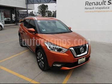 Foto venta Auto usado Nissan Kicks Exclusive Aut (2018) color Naranja Metalico precio $280,000