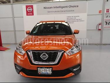 Foto venta Auto usado Nissan Kicks Exclusive Aut (2018) color Naranja Metalico precio $319,000