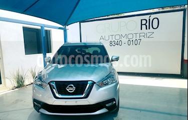 Foto venta Auto usado Nissan Kicks Exclusive Aut (2018) color Plata precio $289,000