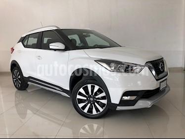 Foto venta Auto usado Nissan Kicks Exclusive Aut (2018) color Blanco Perla precio $299,000