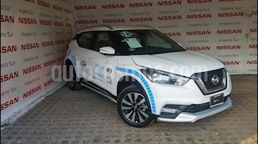 Foto venta Auto Seminuevo Nissan Kicks Exclusive Aut (2018) color Blanco Perla precio $330,000