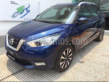 Foto venta Auto usado Nissan Kicks Exclusive Aut (2017) color Azul Cobalto precio $265,000