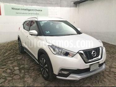 Foto venta Auto usado Nissan Kicks EXCLUSIVE CVT A/C NEGRO (2018) color Blanco precio $320,000