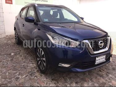 Foto venta Auto usado Nissan Kicks KICKS ADVANCE CVT (2018) color Azul precio $289,000