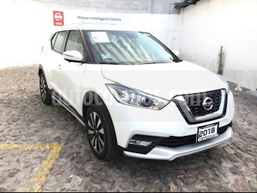Foto venta Auto usado Nissan Kicks KICKS EXCLUSIVE CVT A/C NEGRO (2018) color Blanco precio $340,700