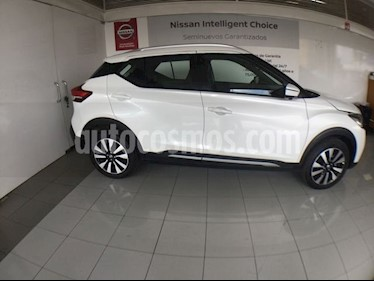 Foto venta Auto Seminuevo Nissan Kicks KICKS EXCLUSIVE CVT A/C NEGRO (2018) color Blanco precio $310,000