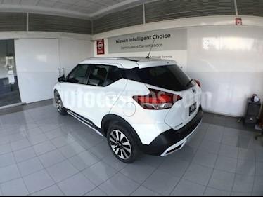 Foto venta Auto usado Nissan Kicks KICKS EXCLUSIVE CVT A/C NEGRO (2018) color Blanco precio $315,000
