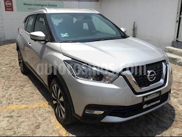 Foto venta Auto usado Nissan Kicks KICKS EXCLUSIVE CVT A/C NEGRO (2018) color Plata precio $310,000