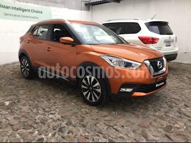 Foto venta Auto usado Nissan Kicks KICKS EXCLUSIVE CVT (2018) color Naranja precio $320,000