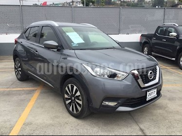 Foto venta Auto usado Nissan Kicks KICKS EXCLUSIVE CVT (2017) color Gris precio $290,000