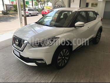 Nissan Kicks Exclusive Aut usado (2019) color Blanco Perla precio $310,000
