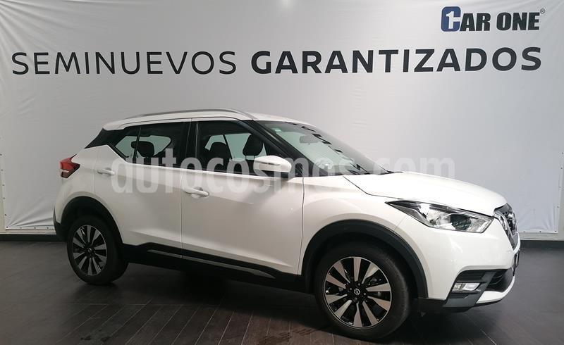 Nissan Kicks Exclusive Aut usado (2020) color Blanco Perla precio $364,900