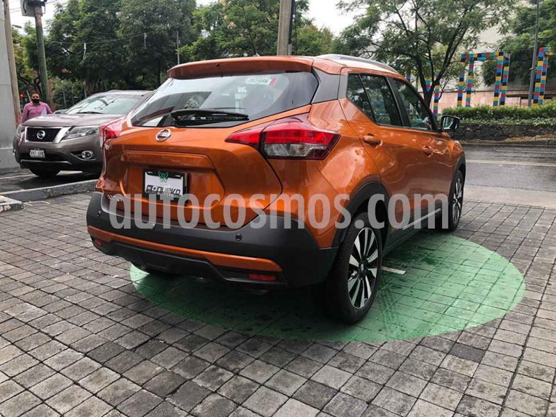Nissan Kicks Bitono Aut usado (2018) color Naranja precio $275,000