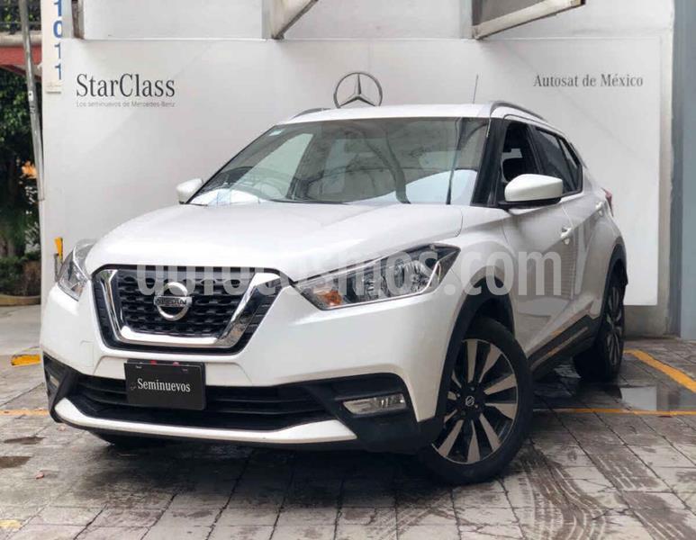 Nissan Kicks Advance Aut usado (2017) color Blanco precio $235,000