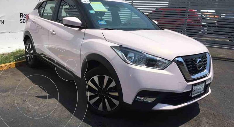 Foto Nissan Kicks Exclusive Aut usado (2019) color Blanco precio $295,000