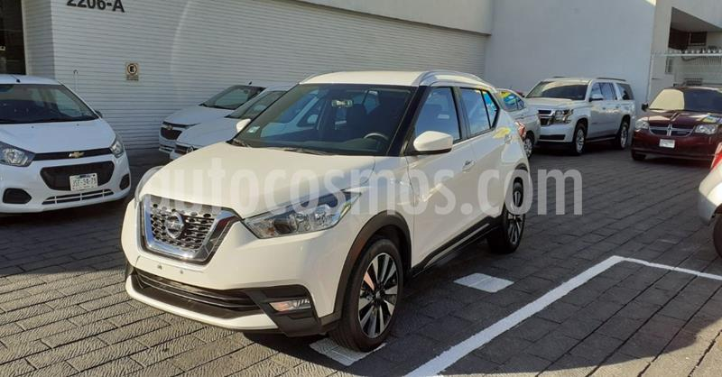 Nissan Kicks Advance Aut usado (2020) color Blanco precio $293,900