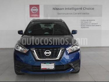 Foto Nissan Kicks 5P SENSE 1.6L TM5 A/AC. VE RA-16 usado (2018) color Azul precio $269,000