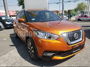 Nissan Kicks Exclusive Aut usado (2018) color Naranja Metalico precio $290,000