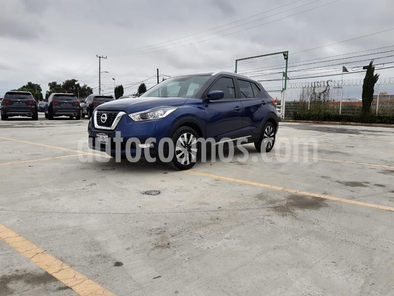 Nissan Kicks Exclusive Aut usado (2018) color Azul precio $279,000