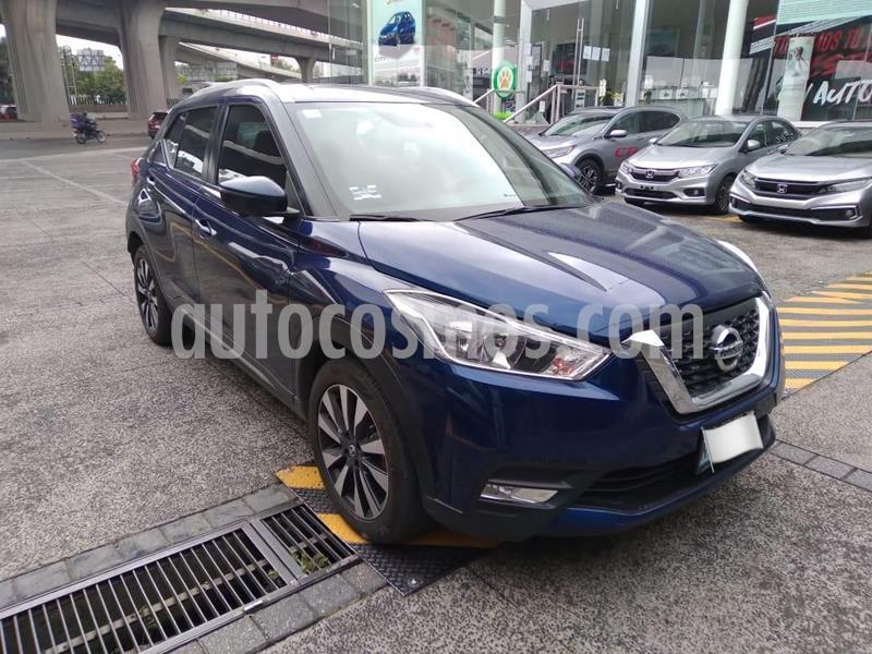 Nissan Kicks Exclusive Aut usado (2017) color Azul precio $265,000