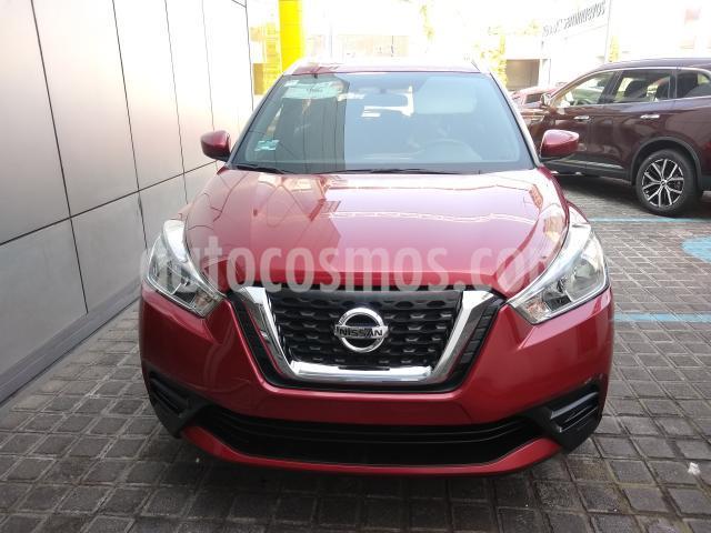 Nissan Kicks 5P SENSE L4/1.6 MAN usado (2018) color Rojo precio $225,000