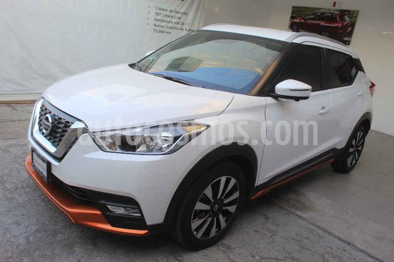 Nissan Kicks Exclusive Aut usado (2020) color Blanco precio $349,000