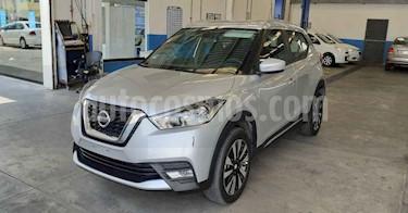 Nissan Kicks 5p 1.6 ADVANCE LTS CVT A/C usado (2020) color Plata precio $249,900