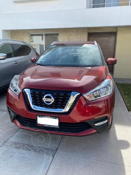 Nissan Kicks Advance Aut usado (2018) color Rojo precio $300,000