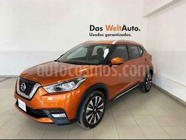 Nissan Kicks 5p Exclusive L4/1.6 Aut usado (2017) color Naranja precio $249,995