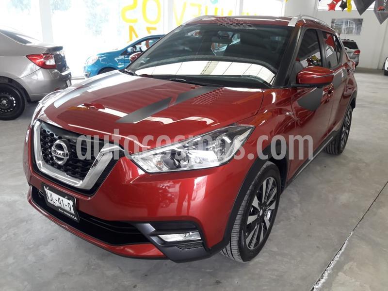 Nissan Kicks Exclusive Aut usado (2019) color Rojo Metalizado precio $305,000