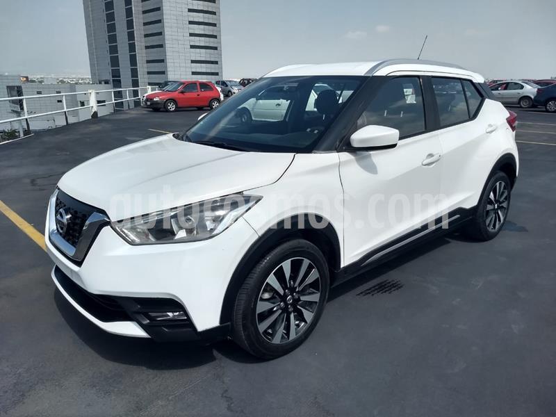 Nissan Kicks Advance Aut usado (2018) color Blanco Perla precio $244,900