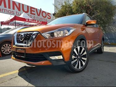 Nissan Kicks Advance Aut usado (2019) color Naranja Metalico precio $299,800