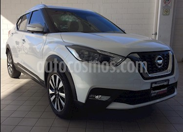 Nissan Kicks Exclusive Aut usado (2018) color Blanco precio $256,000